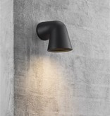 Wall light down outdoor black or white GU10