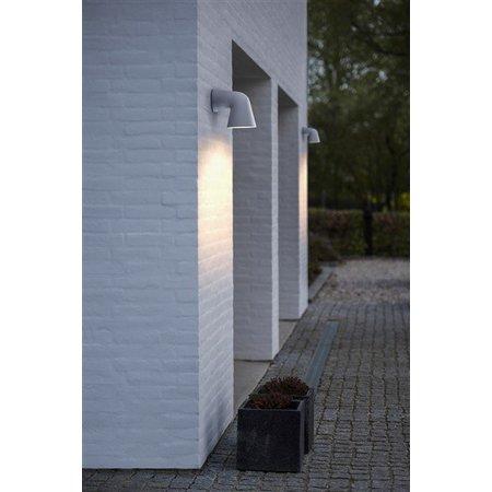 Wall light down outdoor black or white GU10