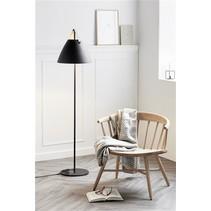 Lampadaire style scandinave design blanc ou noir E27