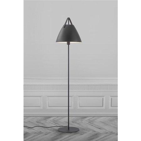 Scandinavian style floor lamp white or black E27