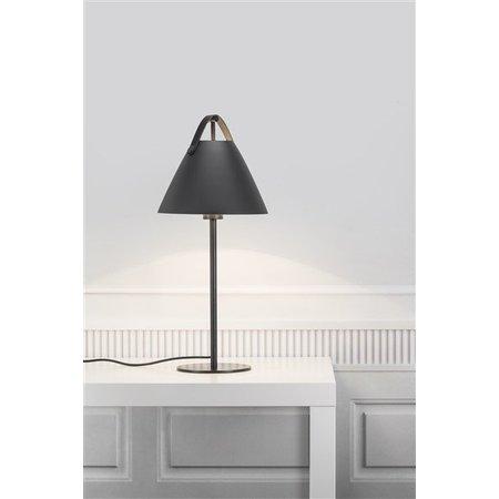 Lampe de table style scandinave blanc ou noir E27