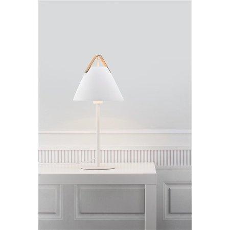 Scandinavian style table lamp white or black E27