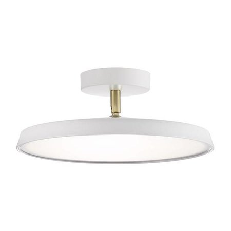 Lampe plafond moderne LED dimmable ronde 14 ou 24W