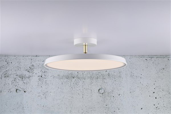 Moderne plafondlamp led dimbaar rond of w myplanetled
