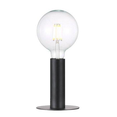 Sfeervolle tafellamp zwart of messing E27