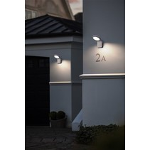LED motion sensor light black or white