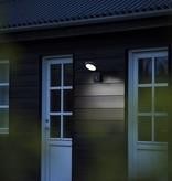 Buitenlamp met sensor LED wit of zwart