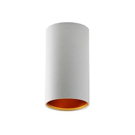 Design spot zwart of wit met goud GU10