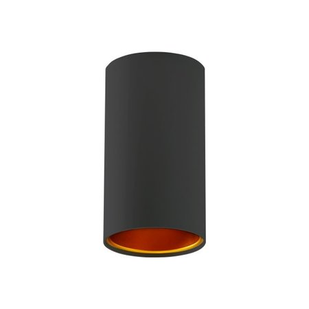 Black and gold ceiling light or white-gold GU10