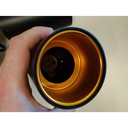 Plafonnier doré avec noir ou blanc GU10