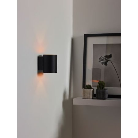 Gold wall lamp black or white G9