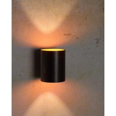 Gouden wandlamp zwart of wit G9