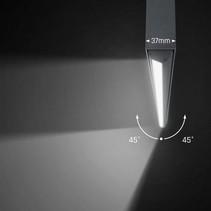 LED verlichting boven bureau 54W 1145mm wit of zwart