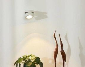 Witte wandlampen