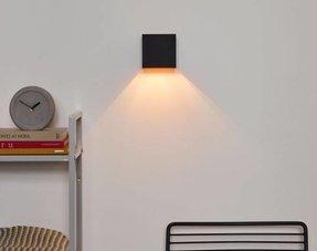 Zwarte wandlampen