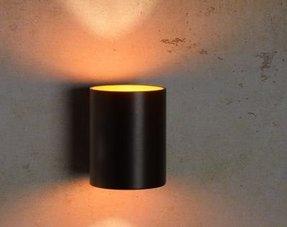Cilinder wandlampen