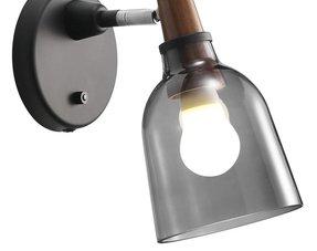 Glazen wandlampen