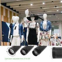 Railverlichting zwart of wit LED flexibele lichtbundel