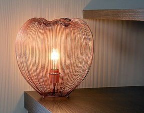 Table lamps copper