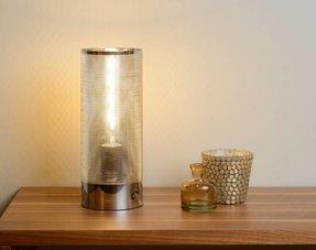 Tafellampen chroom