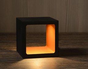 Vierkante tafellampen