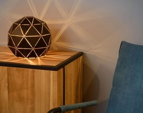 Ball table lamps