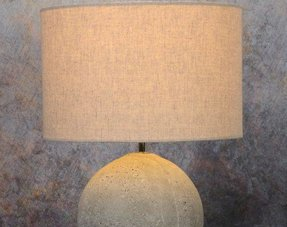 Tafellampen met kap