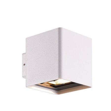 Wandlamp buiten LED 2x5W grafiet/wit/zilver IP54 105mm