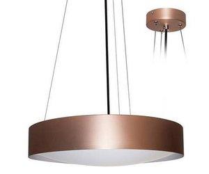 Hanglamp boven eettafel led rond wit zwart mm Ø w myplanetled
