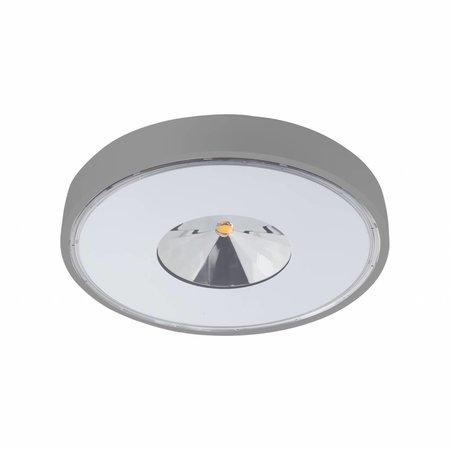 Plafonnier exterieur LED design rond diamètre 280mm 30W