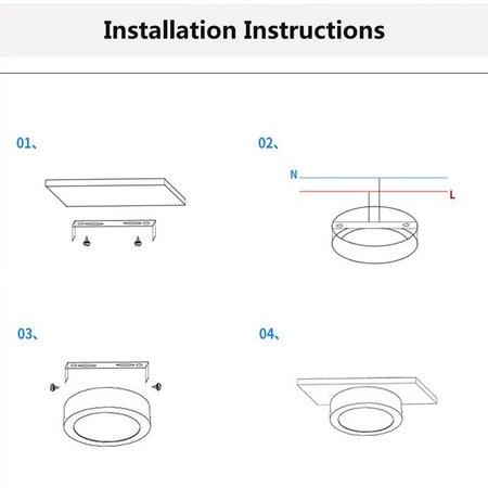 Eclairage sous meuble cuisine LED 5 ou 7W