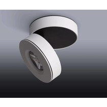 Ceiling spot LED tiltable white or black 7, 10 or 12W
