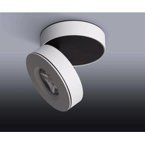 Ceiling spot LED tiltable white or black 7, 10 or 12W
