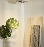 4 spots lamp LED wit-zwart 4x5W