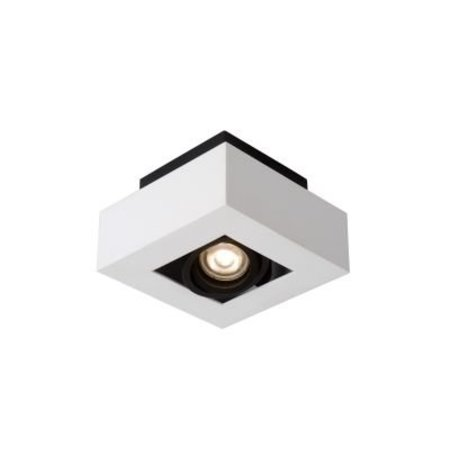 Dimmable ceiling light LED white-black 5W