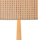 Floor lamp shade wood E27