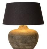 Ceramic lamp with shade E27