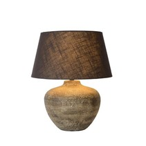 Ceramic lamp with shade E27