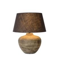 Keramieken tafellamp met kap E27