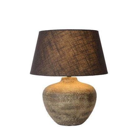 Lampe céramique avec abat-jour E27