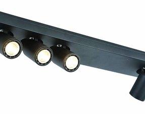 Plafondlampen zwart