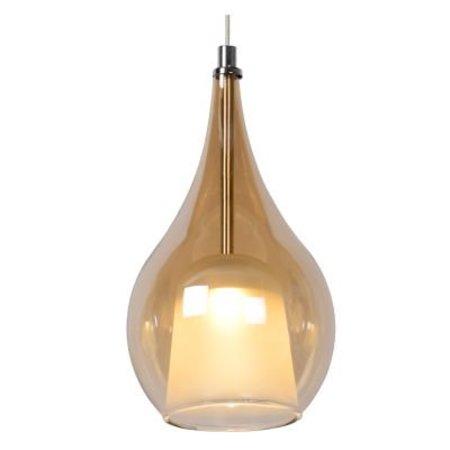Hanglamp 4 lampen glas LED 4x5W