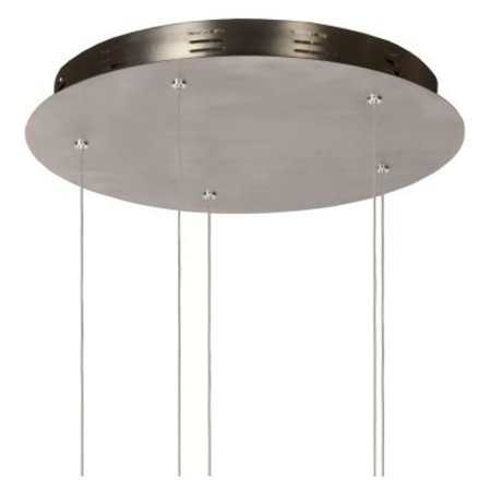 Hanglamp 5 lampen LED glas 5x5W