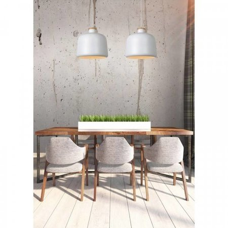 Scandi pendant light grey or white