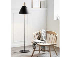 Floor lamps black