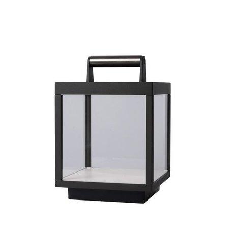 Lampe de table rechargeable LED 15W verre