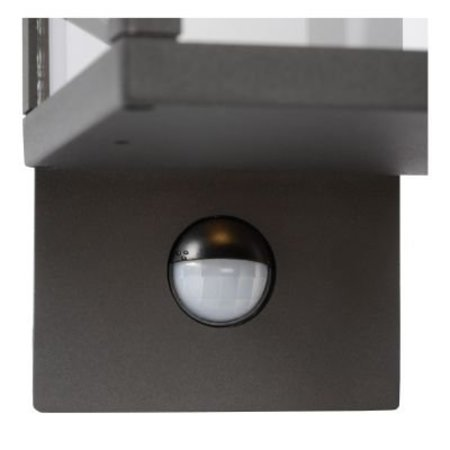 Motion sensor outdoor wall light LED glass