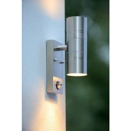 LED buitenlamp met bewegingssensor up down