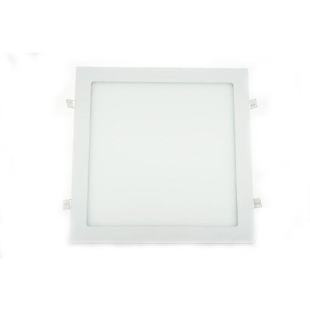 Dalle LED plafond 30x30 encastrable carrée 24W
