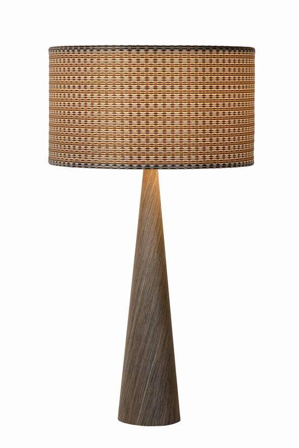 Zeer Tafellamp hout met kap E27 | Myplanetled PW34